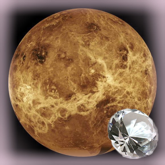 Venus and Diamond - The planet of Sensuality and the effects